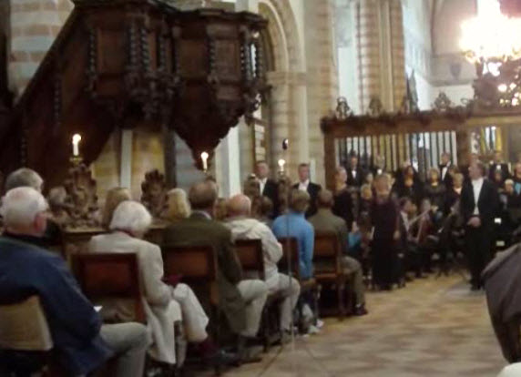 Finalekoncert i Sorø Klosterkirke (Video)