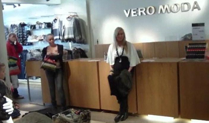Vero Moda blev tømt (næsten) – video
