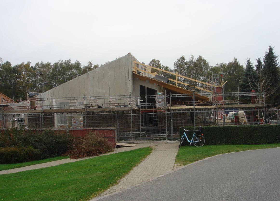 Byggeriet ved Grønnegården