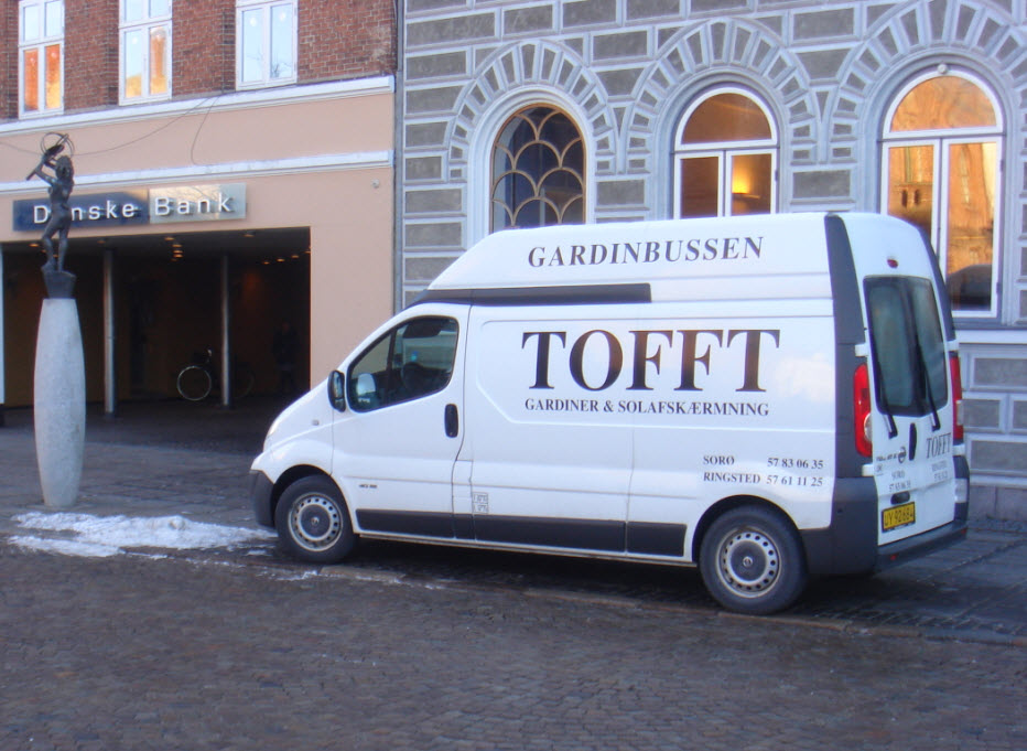 Gardinbussen i Sorø