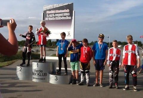 Lasse Larsen tog en flot 2. plads ved NM i Varde den 2. august