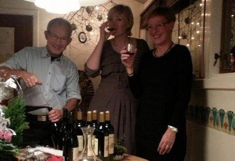 Stina fejrer jul med sin søster og svoger