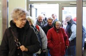 Der vargod stemning, da Røde Kors åbnede enmøbelbutik i Sorø. Organisationendriver ogsåasylcenter i Dianalund.