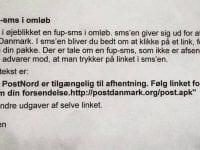 Falsk SMS i omløb