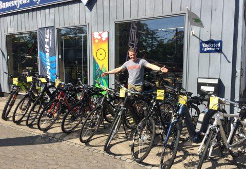 Foto: Sommeren er kommet til Banevejens Cykler og Sport