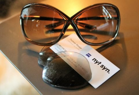 Red dyre solbriller med nye glas