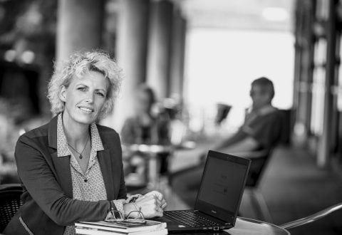 Jette Lykke deltog med stor glæde på iværksætterkursus. Privatfoto.